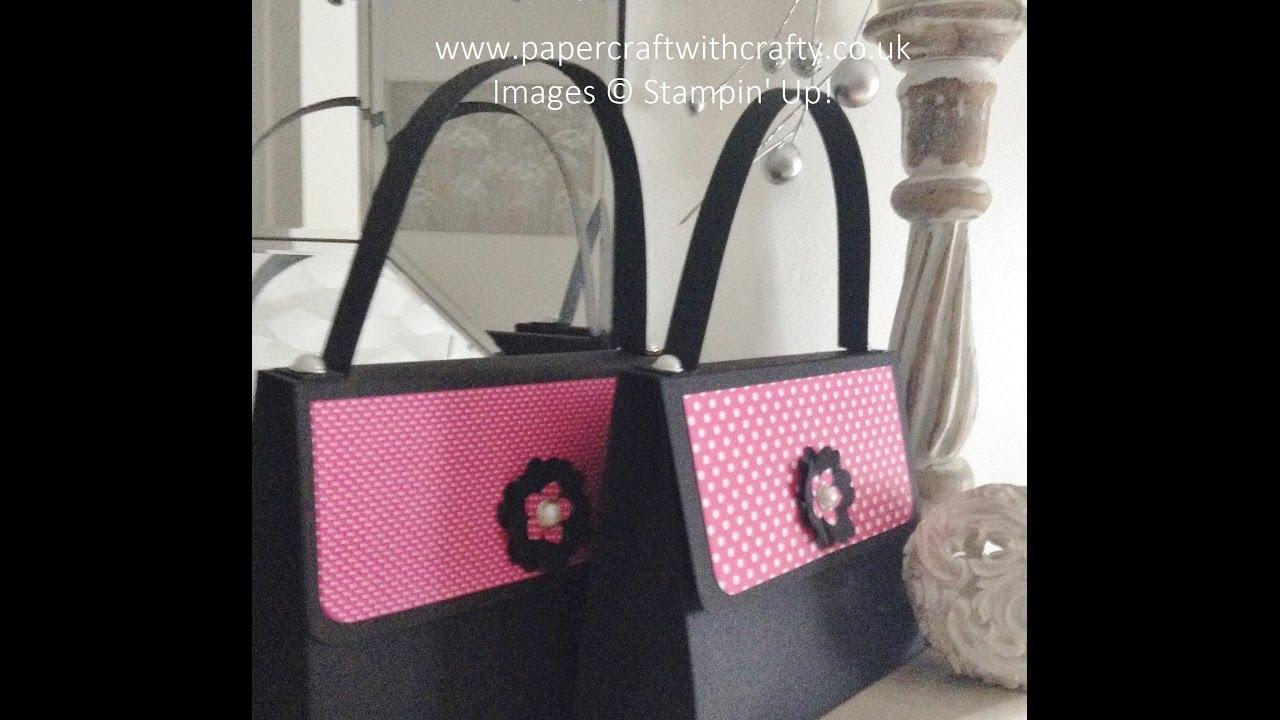 Stampin Up Large Handbag Gift Bag