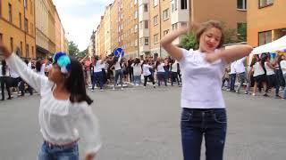 Bollywood Flashmob Stockholm August 2018
