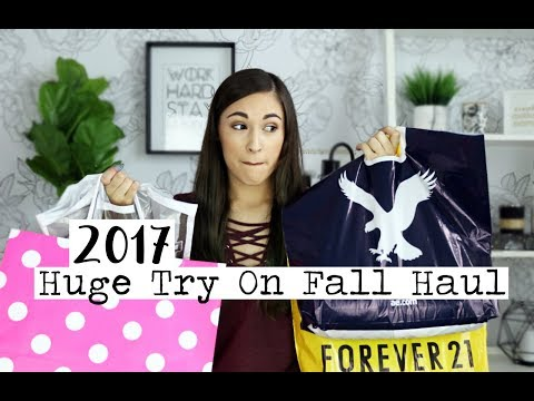 Huge Try On Fall Clothing Haul! || ft. Forever 21, PINK, Alo Yoga & More!