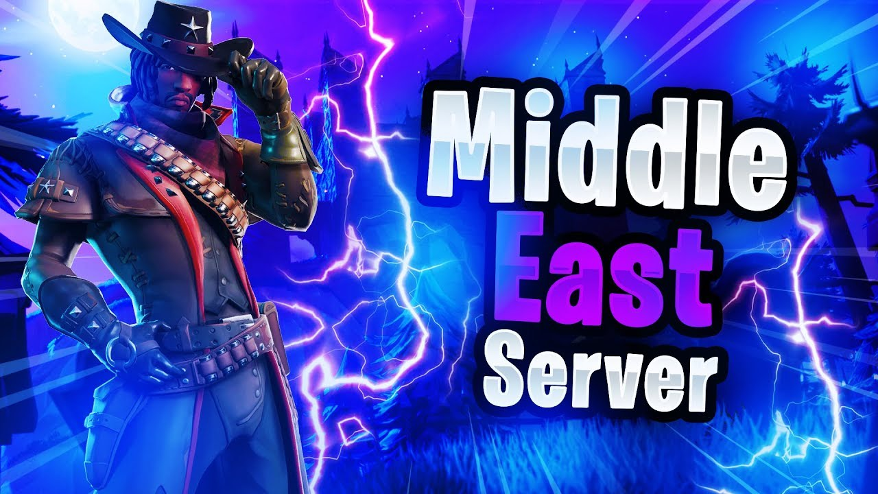 Middle East Servers Are Here! - Fortnite Middle East Servers