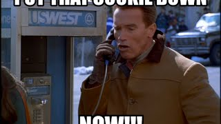 Arnold Schwarzenegger Put That Cookie Down Remix
