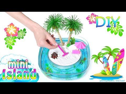 How To Make A Miniature Island In Ocean Zen Garden – DIY Stress-Relieving Desk Decoration