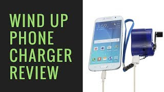 Wind Up USB Phone MP3 Emergency Charger review / teardown
