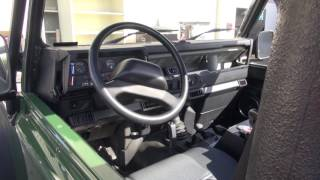 Land Rover Defender   Minor Dash Repair and Mat Replacement by Cooks Upholstery
