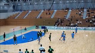 2018福井国体「ハンドボール成年男子」3位決定戦 後半ラスト5分