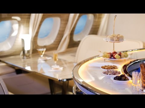 Emirates upgrades its 'bar in the sky' on-board lounge | CNBC International