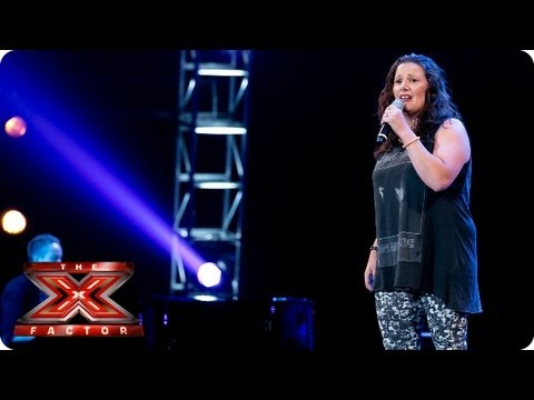 Sam Bailey sings Clown by Emeli Sande -- Bootcamp Auditions -- The X Factor 2013