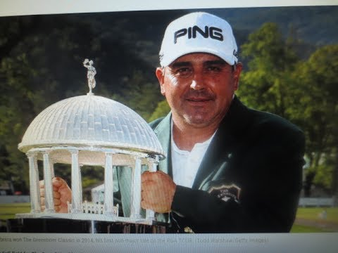 Angel Cabrera wins the 2014 Greenbrier Classic