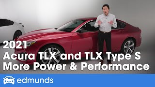 2021 Acura TLX and TLX Type S ― First Impressions Review, Specs & More