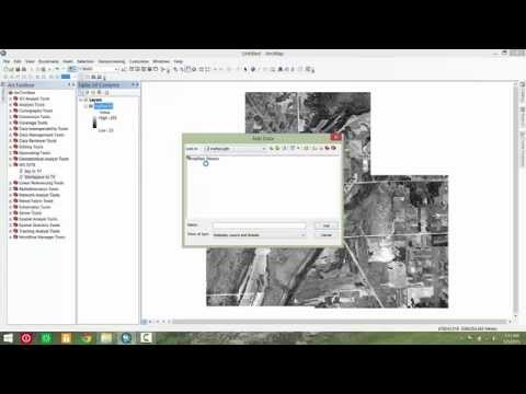 ArcGIS Script Tool - Merge Georeferenced Imagery