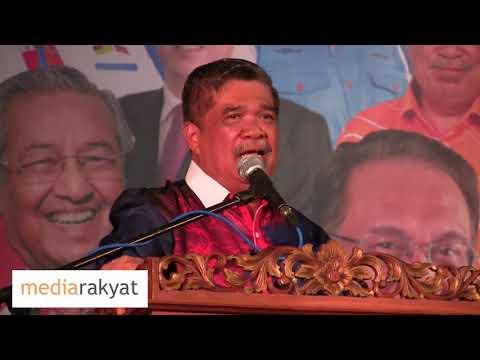 (08/10/2018) Mat Sabu: Ceramah Mega Mahathir-Anwar Di Port Dickson