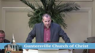 Guntersville Church of Christ November 10, 2019