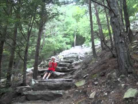 Jacks Mountain 1000 Steps Pa Ran Ds Vlog Youtube