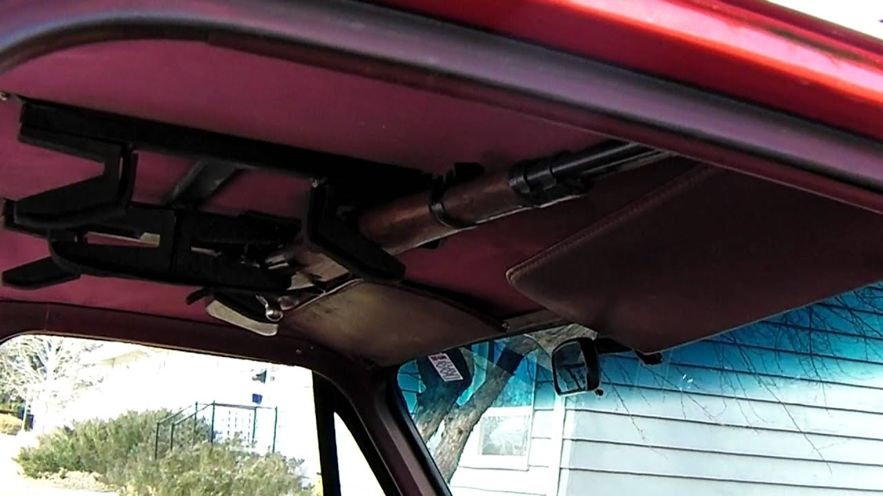 1987 Gmc Roof Mounted Gun Rack Youtube