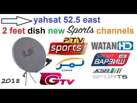 Yahsat 52 5E New Sports Channels Added Free to Air 2018 Update