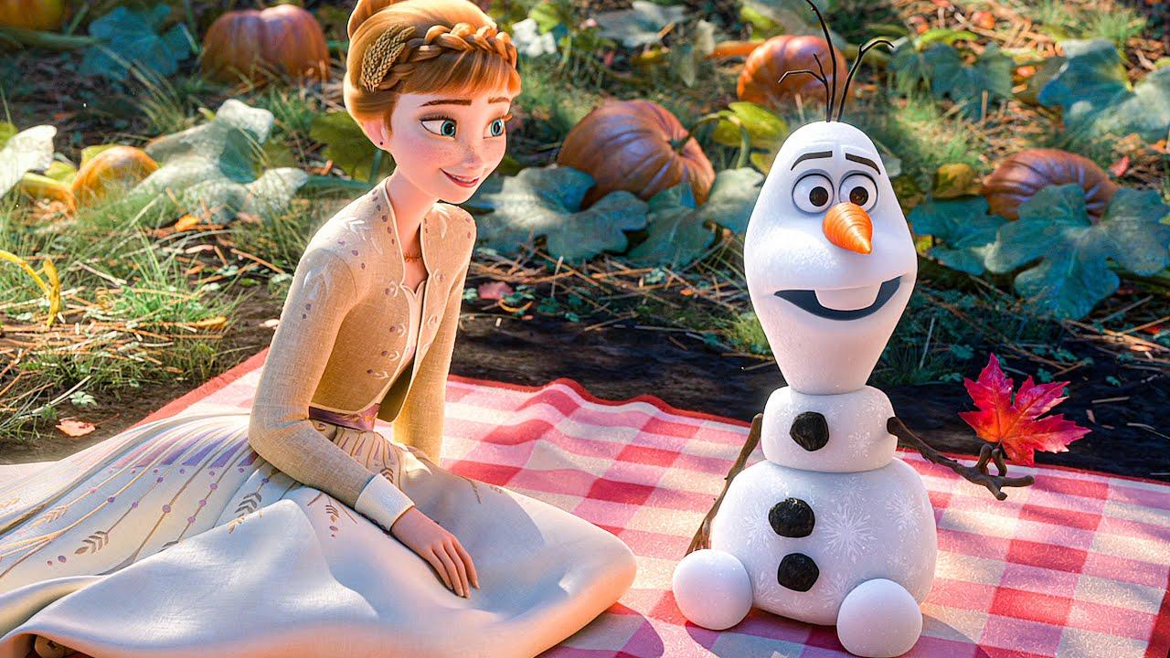 olaf gets poetic scene frozen movie clip