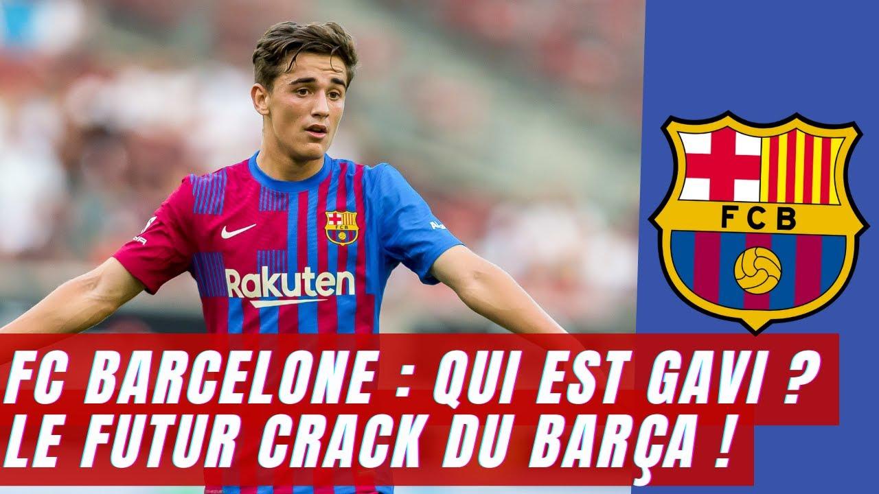 Download FC Barcelone : qui est Gavi ? Le futur crack du Barça !