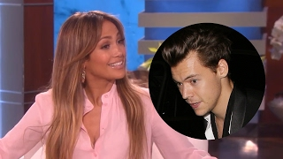 Jennifer Lopez Wants to Date Harry Styles? Gets GRILLED About Drake Relationship on Ellen