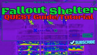 Fallout Shelter QUEST Guide (Ps4, Xbox, PC, Android, iOS)