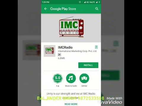 Launching of IMC RADIO by MD SATYAN BHATIA in New Delhi mega seminar