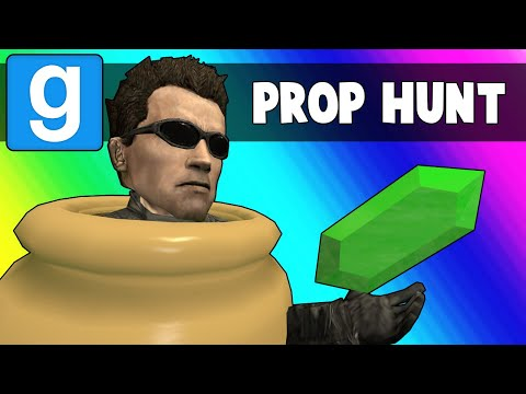 Gmod Prop Hunt Funny Moments - Ohmwreckers Teleporter Troubles (Garrys Mod)