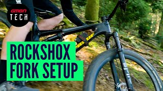 How To Set Up Any RockShox Fork | Everything You Need To Know About Suspension Fork Setup