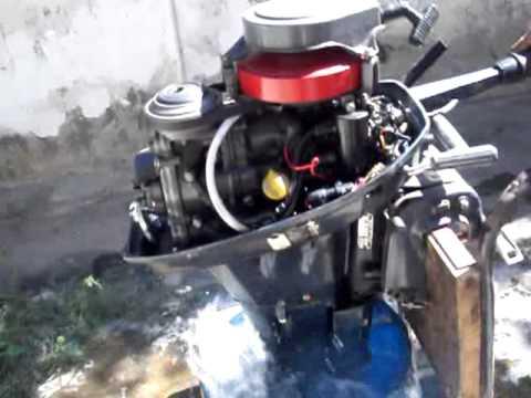 Motor honda 10 hp todo original youtube for 10 hp boat motors