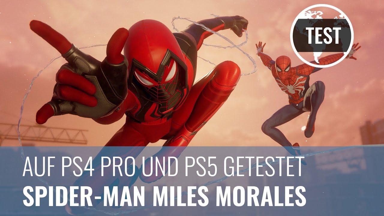 Spider-Man - Miles Morales im PS4- und PS5-Test: Würdige Spinnen-Nachfolge (4K, Review, German)