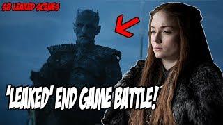 'LEAKED' End Game Battle! Game Of Thrones Season 8 (Leaked Scenes)