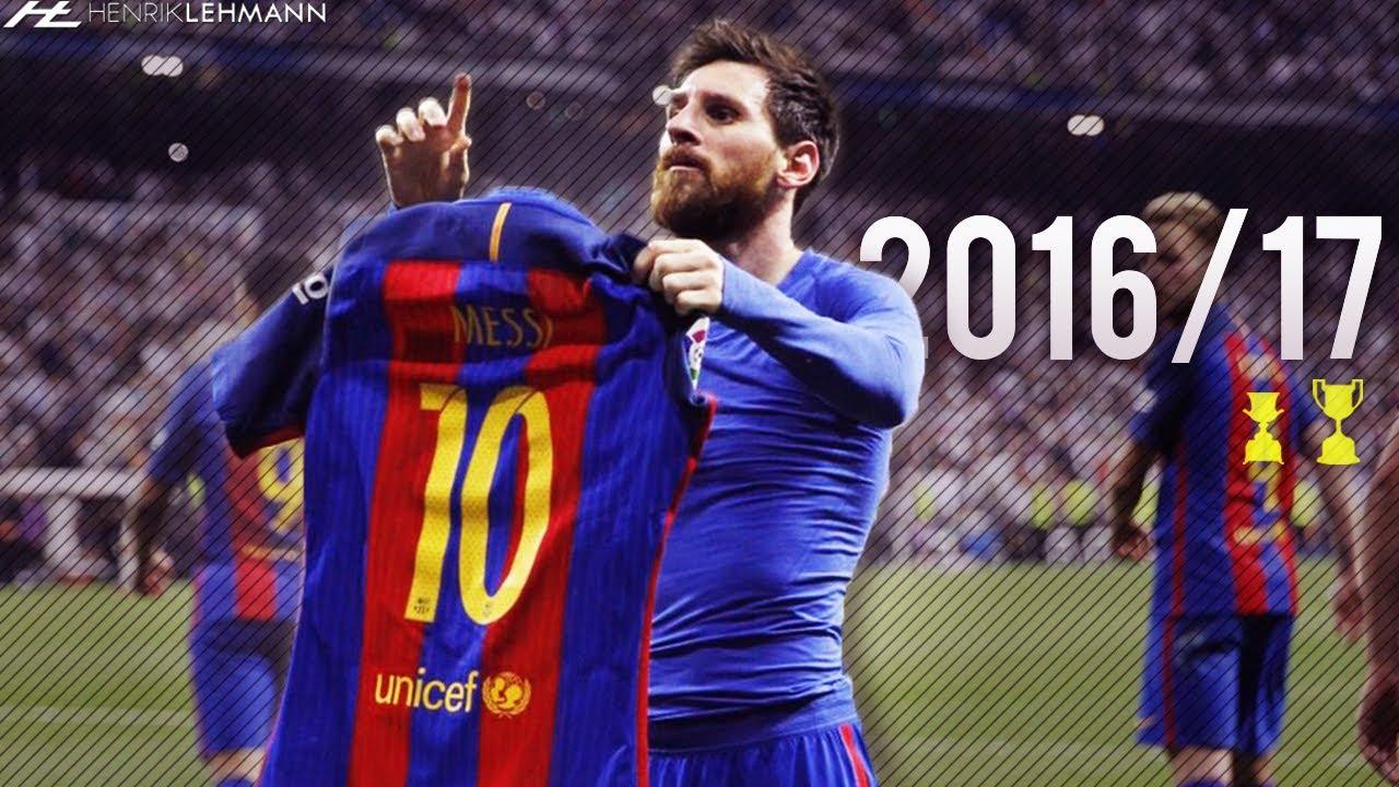 Download Lionel Messi ● 2016/17 ● Goals, Skills & Assists