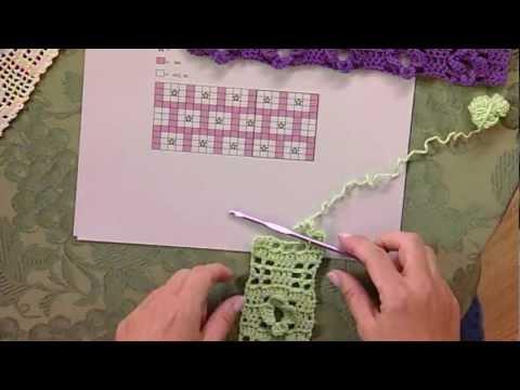 Filet Crochet From Knitting Daily Tv Episode 810 Youtube