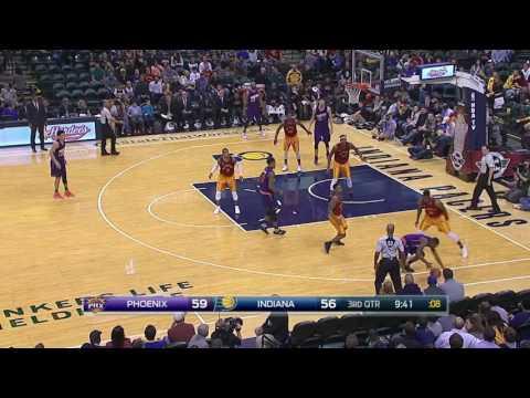 Phoenix Suns vs Indiana Pacers | November 18, 2016 | NBA 2016-17 Season
