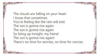 Cris Cab - The Sun Is Gonna Rise Again Lyrics