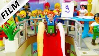 Playmobil Film Deutsch - RUTSCHTURNIER IM SHOPPING-CENTER! KANN JULIAN GEWINNEN? Familie Vogel