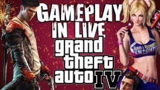 AMO QUESTO GIOCO! Gameplay GTA IV PC! [ITA]
