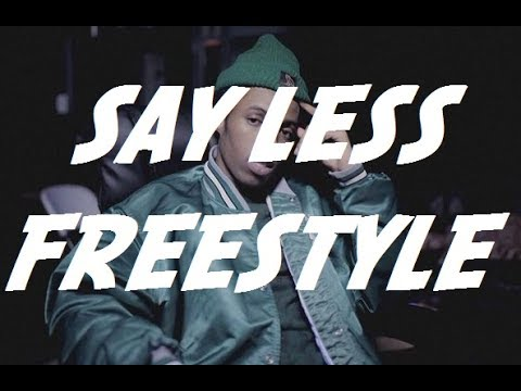 [HQ] Say Less Freestyle - Roy Woods