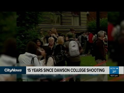 15 years since the Dawson College shooting in Montreal