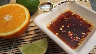 Цитрусовый соус для спрингроллов