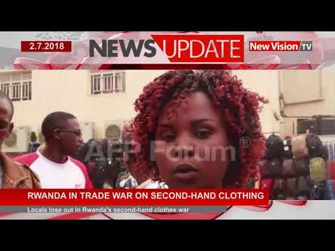 Rwanda in trade war on second  hand clothing
