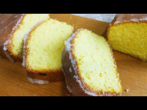 Видео: Как Приготовить Восхитительный Лимонный Кекс. Очень Простой Рецепт !