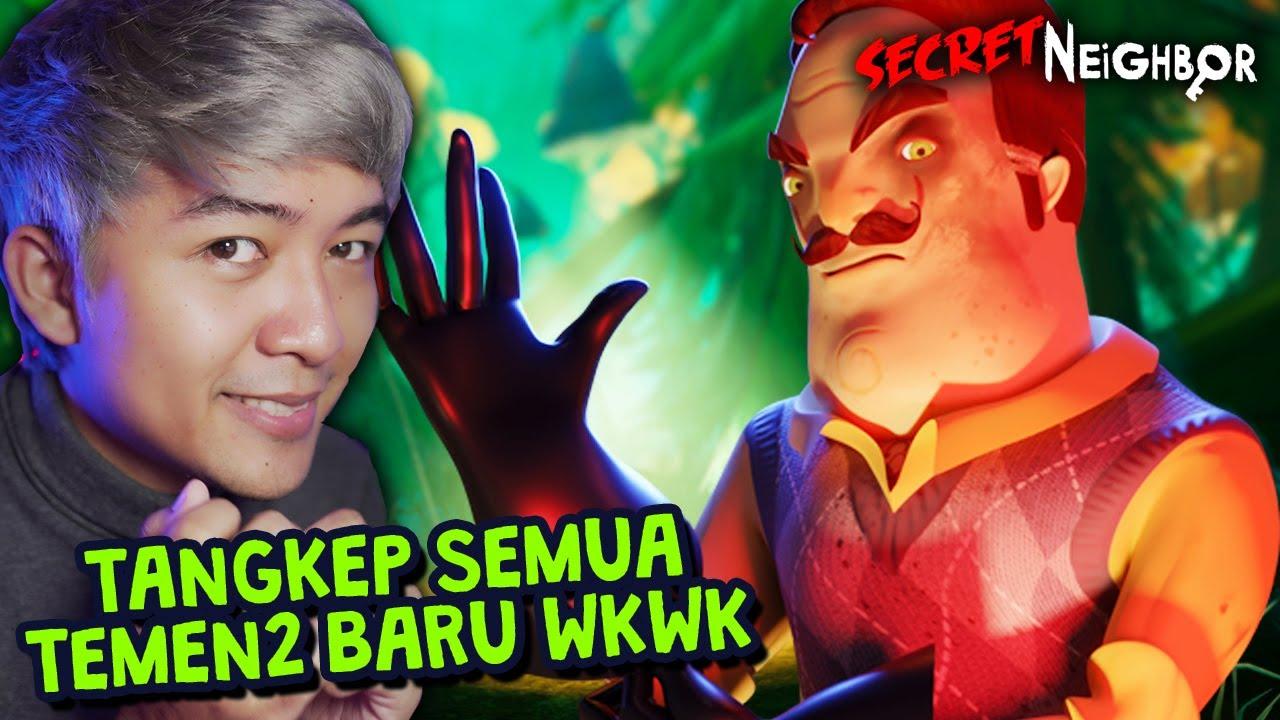 OM BADUT SEMBUNYIIN 5 KUNCI! 🤣 | Secret Neighbor Indonesia