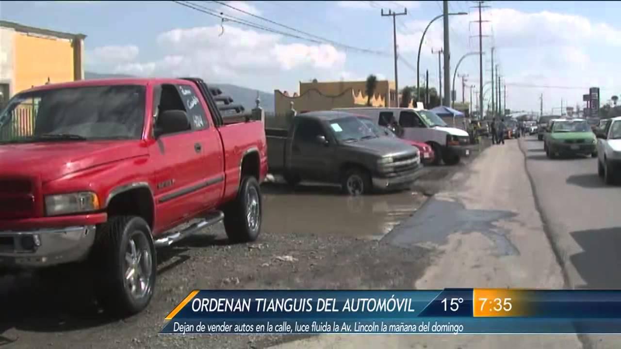 Las Noticias - Ponen órden en el Tianguis del Automóvil