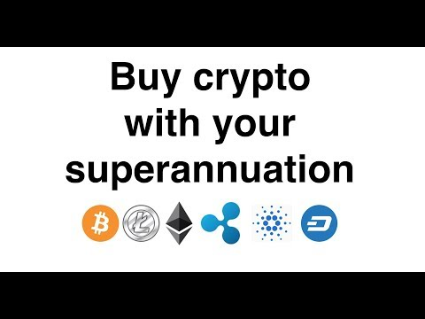 Buy Crypto With Your Superannuation