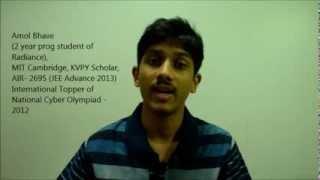 MITian Amol Bhave on SAT