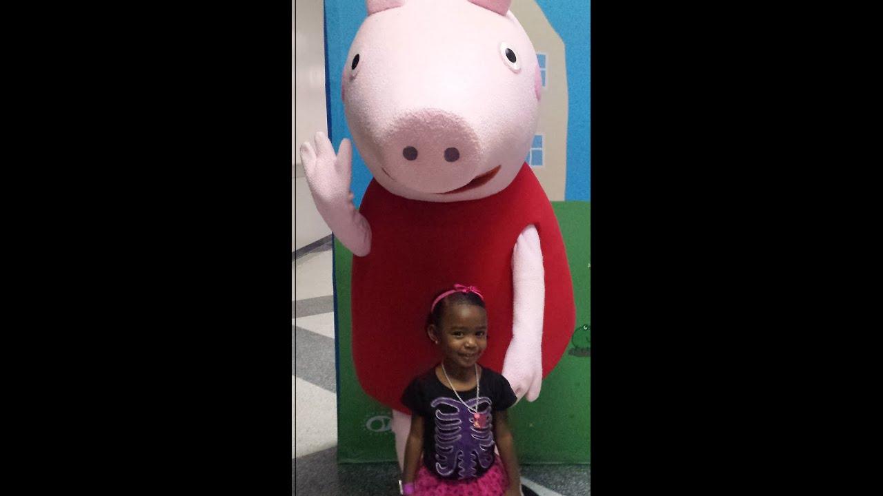 Peppa Pig Meet And Greet At The Fair4 Youtube