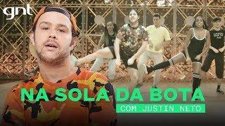 Coreografia Na Sola da Bota - Rionegro e Solimões | Justin Neto | Me Deixa Dançar