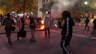 UNREST IN AMERICA: Protests break out following the Breonna Taylor grand jury ruling
