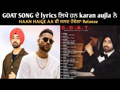 Gratis Goat Diljit Dosanjh Ft Karan Aujla Goat Album Goat Song Diljit Dosanjh Latest Punjabi Songs 2020 Mp3 With 01 41