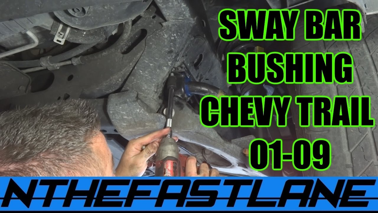 small resolution of  sway bar bushing how to replace chevrolet trailblazer 01 09 2003 gmc envoy rear stabilizer diagram