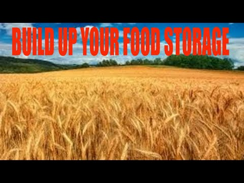 SHTF Prepping: Building up your food storage